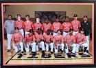 Urbana Tigers Boys Varsity Baseball Spring 17-18 team photo.