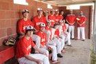 Mountain Pine Red Devils Boys Varsity Baseball Spring 17-18 team photo.