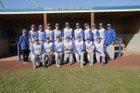 Ferndale Golden Eagles Boys Varsity Baseball Spring 17-18 team photo.