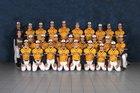 Victor Blue Devils Boys Varsity Baseball Spring 17-18 team photo.