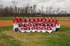 Harmony Grove Cardinals Boys Varsity Baseball Spring 17-18 team photo.