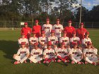 Tavares Bulldogs Boys Varsity Baseball Spring 17-18 team photo.