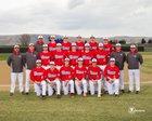 West Valley Rams Boys Varsity Baseball Spring 17-18 team photo.