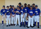 Doctors Charter Hawks Boys Varsity Baseball Spring 17-18 team photo.