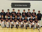 Elida Bulldogs Boys Varsity Baseball Spring 17-18 team photo.