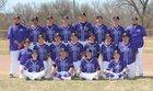 Santa Rosa Lions Boys Varsity Baseball Spring 17-18 team photo.