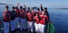 Crosspoint Warriors Boys Varsity Baseball Spring 17-18 team photo.