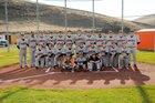 Pomeroy Pirates Boys Varsity Baseball Spring 17-18 team photo.
