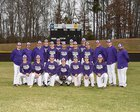 Monroe Area Hurricanes Boys Varsity Baseball Spring 17-18 team photo.