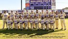Marianna Bulldogs Boys Varsity Baseball Spring 17-18 team photo.