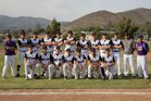 Vasquez Mustangs Boys Varsity Baseball Spring 17-18 team photo.