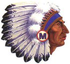 Manhattan Indians Boys Varsity Baseball Spring 17-18 team photo.