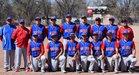 McCurdy Bobcats Boys Varsity Baseball Spring 17-18 team photo.