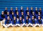 Central Mountain Wildcats Boys Varsity Baseball Spring 17-18 team photo.