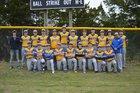 Mountain View Yellowjackets Boys Varsity Baseball Spring 17-18 team photo.