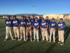 Laguna Acoma Hawks Boys Varsity Baseball Spring 17-18 team photo.