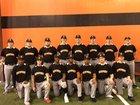 Newport Greyhounds Boys Varsity Baseball Spring 17-18 team photo.