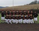 Monroe Bearcats Boys Varsity Baseball Spring 17-18 team photo.