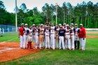 Wakulla Christian School Saints Boys Varsity Baseball Spring 17-18 team photo.