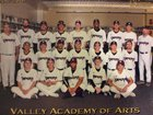 Valley Academy of Arts & Sciences Vipers Boys Varsity Baseball Spring 17-18 team photo.