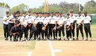 Santa Fe Chiefs Boys Varsity Baseball Spring 17-18 team photo.