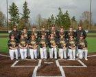Inglemoor Vikings Boys Varsity Baseball Spring 17-18 team photo.