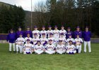 Issaquah Eagles Boys Varsity Baseball Spring 17-18 team photo.
