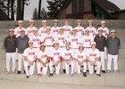 Ferris Saxons Boys Varsity Baseball Spring 17-18 team photo.