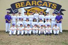 Booneville Bearcats Boys Varsity Baseball Spring 17-18 team photo.