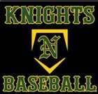 Northeastern Knights Boys Varsity Baseball Spring 17-18 team photo.