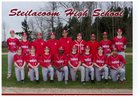 Steilacoom Sentinels Boys Varsity Baseball Spring 17-18 team photo.