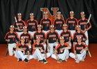 Hoover Vikings Boys Varsity Baseball Spring 17-18 team photo.