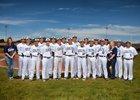 Silver Fighting Colts Boys Varsity Baseball Spring 17-18 team photo.