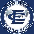 Clovis East Timberwolves Boys Varsity Baseball Spring 17-18 team photo.