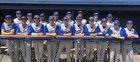 Longmont Trojans Boys Varsity Baseball Spring 17-18 team photo.