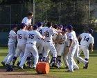 Piedmont Highlanders Boys Varsity Baseball Spring 17-18 team photo.