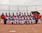 Peyton Panthers Boys Varsity Baseball Spring 17-18 team photo.