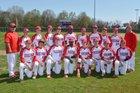 Tuckerman Bulldogs Boys Varsity Baseball Spring 17-18 team photo.