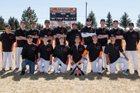 Clayton Yellowjackets Boys Varsity Baseball Spring 17-18 team photo.