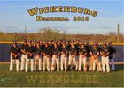 Wickenburg Wranglers Boys Varsity Baseball Spring 17-18 team photo.