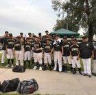 Arroyo Valley Hawks Boys Varsity Baseball Spring 17-18 team photo.