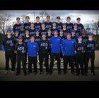 Danville Admirals Boys Varsity Baseball Spring 17-18 team photo.
