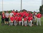 Locust Grove Pirates Boys Varsity Baseball Spring 17-18 team photo.