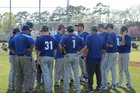 Peninsula Catholic  Boys Varsity Baseball Spring 17-18 team photo.