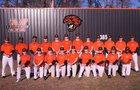 Malvern Leopards Boys Varsity Baseball Spring 17-18 team photo.
