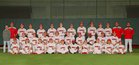 Magnolia Panthers Boys Varsity Baseball Spring 17-18 team photo.