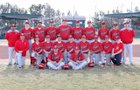 Roswell Coyotes Boys Varsity Baseball Spring 17-18 team photo.