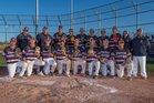 Santa Fe Indian Braves and Lady Braves Boys Varsity Baseball Spring 17-18 team photo.