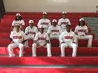 Dunbar Crimson Tide Boys Varsity Baseball Spring 17-18 team photo.
