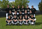 Golden Valley Grizzlies Boys Varsity Baseball Spring 17-18 team photo.